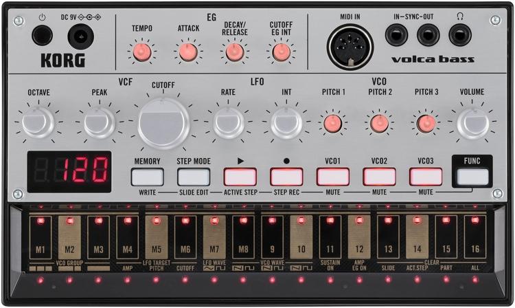 Rozetka. Ua   фото аналоговая бас-машина korg volca-bass (212351.
