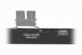 Viscount Expression pedals (2 units) for Midi Bass Pedals