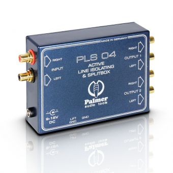 Palmer PLS 04 - Dual Channel Line Splitter