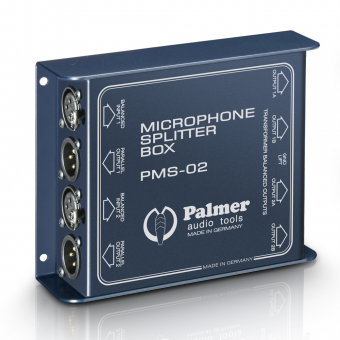 Palmer PMS 02 - Dual Channel Microphone Splitter