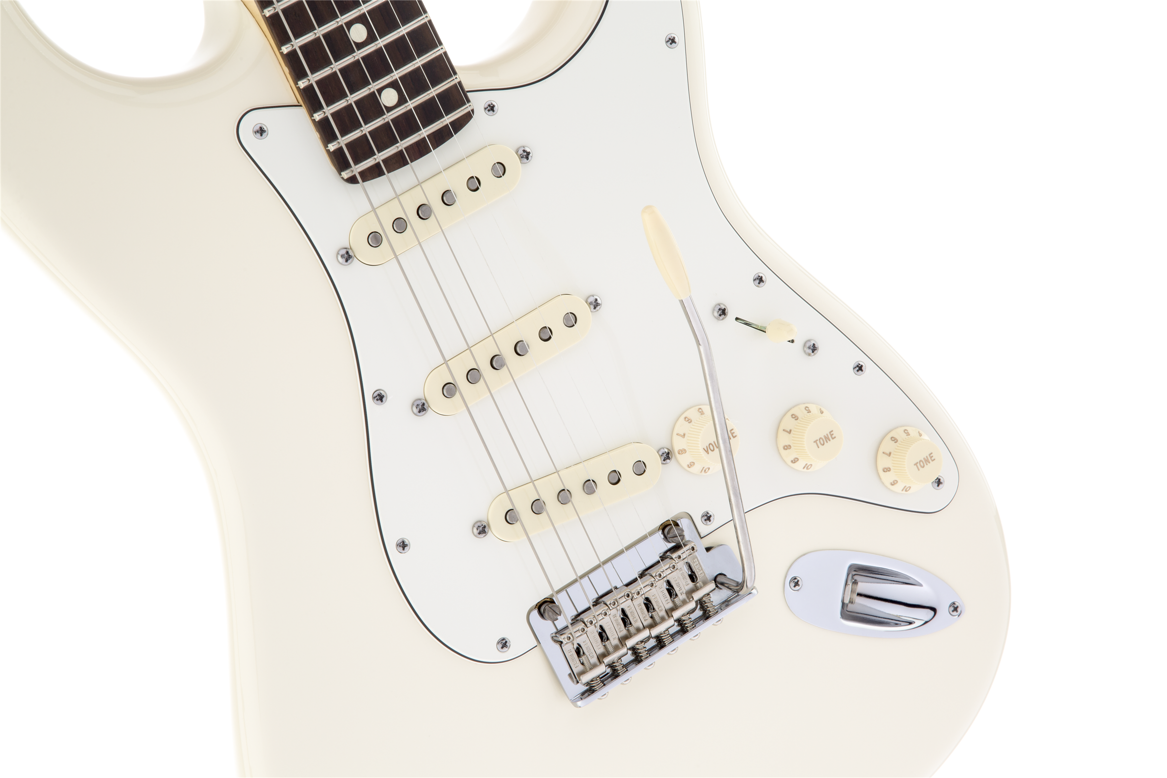 Fender American Standard Stratocaster, Olympic White, Rosewood Фото 7