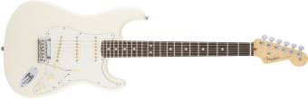 Fender American Standard Stratocaster, Olympic White, Rosewood