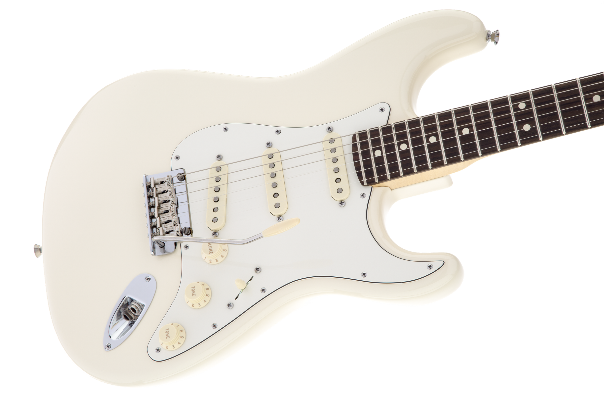 Fender American Standard Stratocaster, Olympic White, Rosewood Фото 6
