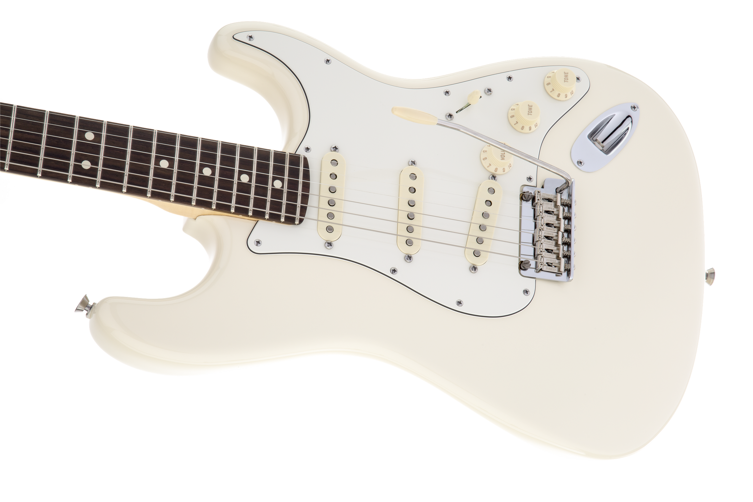 Fender American Standard Stratocaster, Olympic White, Rosewood Фото 5
