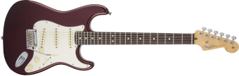 Fender American Standard Stratocaster, Bordeaux Metallic, Rosewood