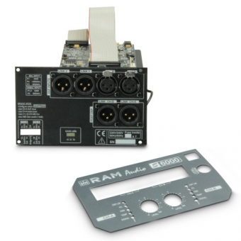 Ram Audio DSP 22 S - DSP Module for S Series 2-Channel Professional Power Amplifiers