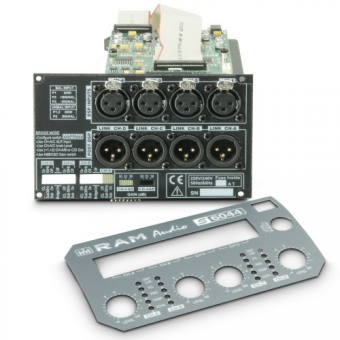 Ram Audio DSP 44 S - DSP Module for S Series 4-Channel Professional Power Amplifiers